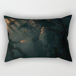 The Hunt Rectangular Pillow