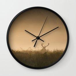 Richmond Park - 08, September 2015 Wall Clock