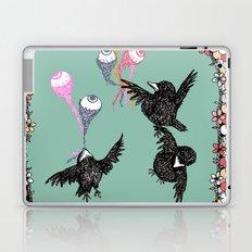 Crow Serie :: Eye Balloons (cria cuervos y te sacaran los ojos) Laptop & iPad Skin