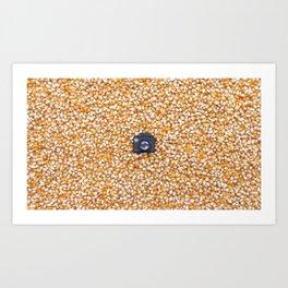 Corn & Tiny Tiny Camera Art Print