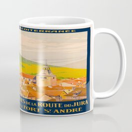 Vintage poster - Route du Jura, France Coffee Mug