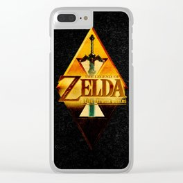 THE LEGEND of ZELDA-Link Clear iPhone Case