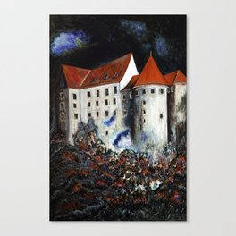 Loket Castle Canvas Print