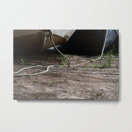 Just Boats Metal Print