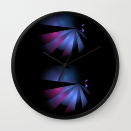 Fantasy birds Wall Clock