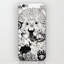 Skool Daze ii iPhone Skin
