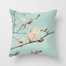Paper Petals Throw Pillow
