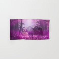 Fairy bear out of the woods Hand & Bath Towel