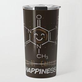 Caffeine Happiness Travel Mug