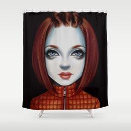 Shirley Version 2.0 Shower Curtain