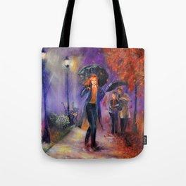 Evening Walk Tote Bag