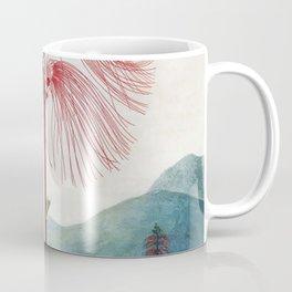 Large Flowering Sensitive Plant The Temple Of Flora Coffee Mug