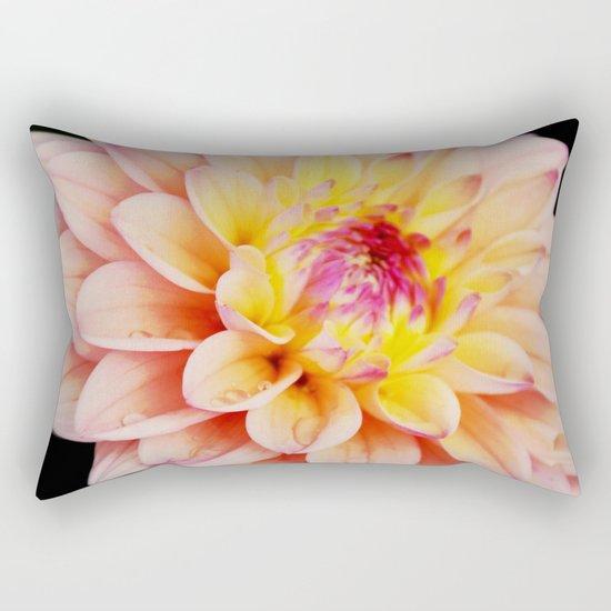 Light Pink Dahlia #2 Rectangular Pillow
