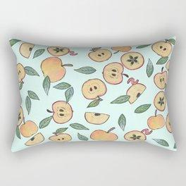 Apples watercolor Rectangular Pillow