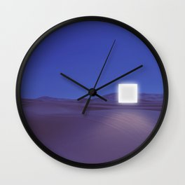 A Night In The Desert Wall Clock
