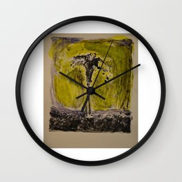 Stick Man Wall Clock