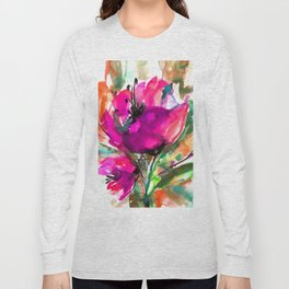 Serendipity 2A by Kathy Morton Stanion Long Sleeve T-shirt