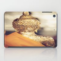 buddhism iPad Cases featuring Buddha the other side  by Maria Heyens