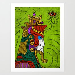 Ancient Egypt Pharaoh Art Print