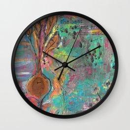 Autumn Moon Beet Wall Clock