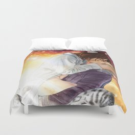 Something Wild Calls You Home Duvet Cover