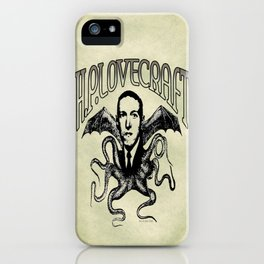 H.P. LOVECRAFT iPhone Case