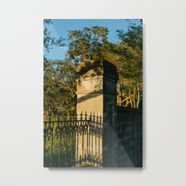 Charleston Lowndes Grove V Metal Print