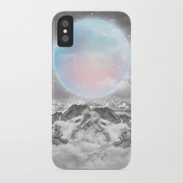Places Neither Here Nor There (Guardian Moon) iPhone Case