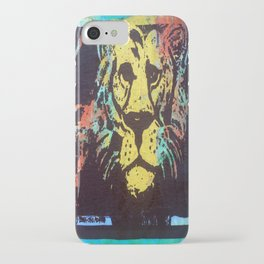 Colorful Lion iPhone Case