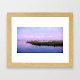 Creekside Evening Framed Art Print