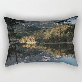 Lake Mood - Landscape and Nature Photography Rectangular Pillow