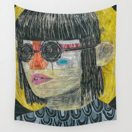 NONCHALANT NEGLECT Wall Tapestry