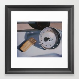 ...And the Kitchen Sink Framed Art Print