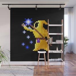 wizard yellow Wall Mural