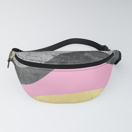 Undulating texture VI Fanny Pack