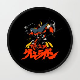 043 Gurren Robot Wall Clock