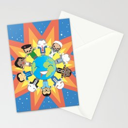 THE WORLD ROBOTIC Stationery Cards