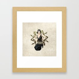 1920s Jazz Siren Framed Art Print