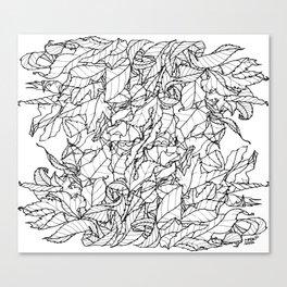 Autumn Leaves I. Canvas Print