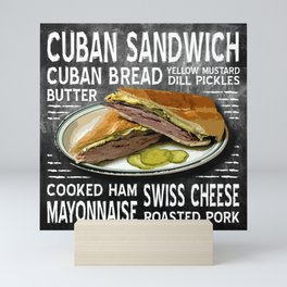 Cuban Sandwich Mini Art Print