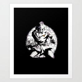 Rorschach Inspired Illustration Art Print