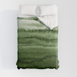 WITHIN THE TIDES FOREST GREEN by Monika Strigel Comforters
