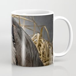 Heron and the mole Coffee Mug