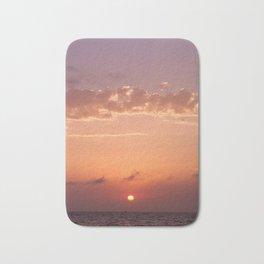 Sunrise in Baja California Sur Bath Mat