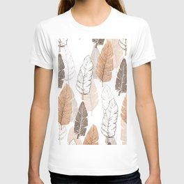 Watercolour Feathers II T-shirt