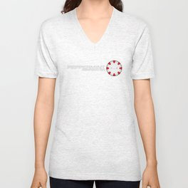 Peppermint Corporation Unisex V-Neck
