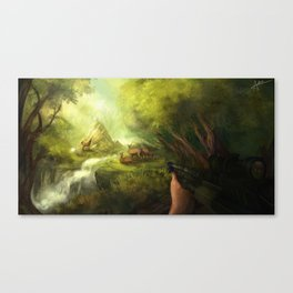Deer Season Canvas Print