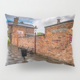 Hadlow Victorian Railway Station Pillow Sham
