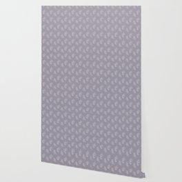 Mauve Eucalyptus Wallpaper