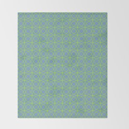 o x o - just circumferences - bg Throw Blanket